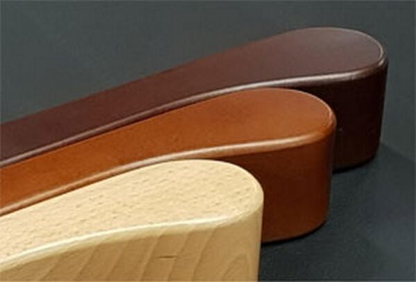 Wood finishes for knuckles