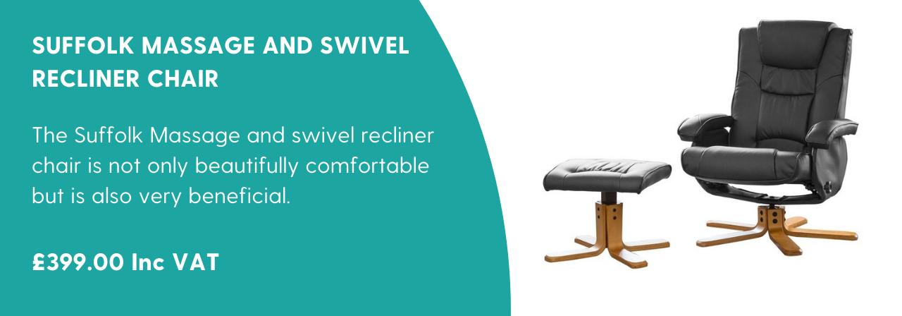 Suffolk Massage and Swivel Recliner Chair